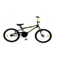 MATRIX BMX - TRACK BLACK-YELLOW (2019)